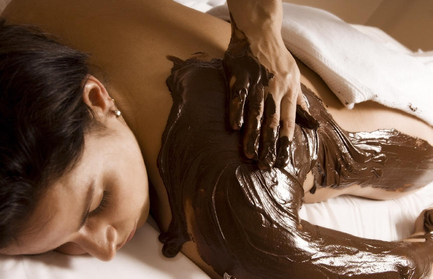 Warme Chocolademassage